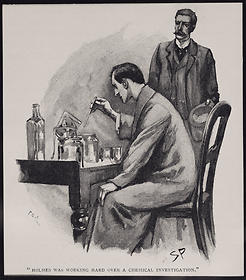 Holmes chemical experiment